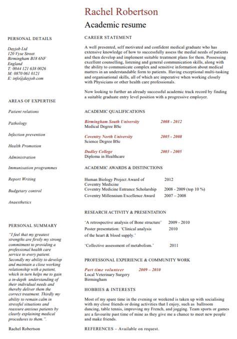 curriculum vitae templates poster template