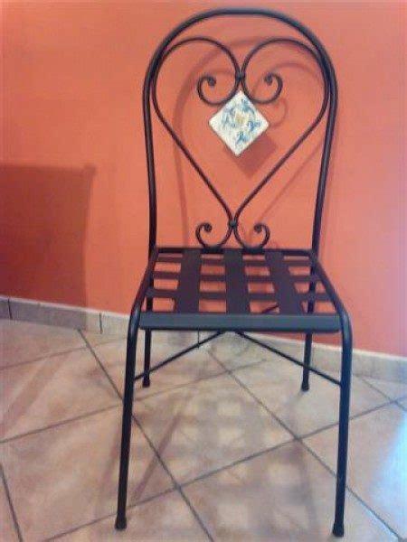 sedie in ferro battuto sedia in ferro battuto catania cu ce mur cucine in