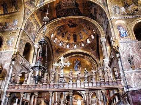 basilica di san marco interno la basilica di san marco il fulcro della citt 224 di venezia