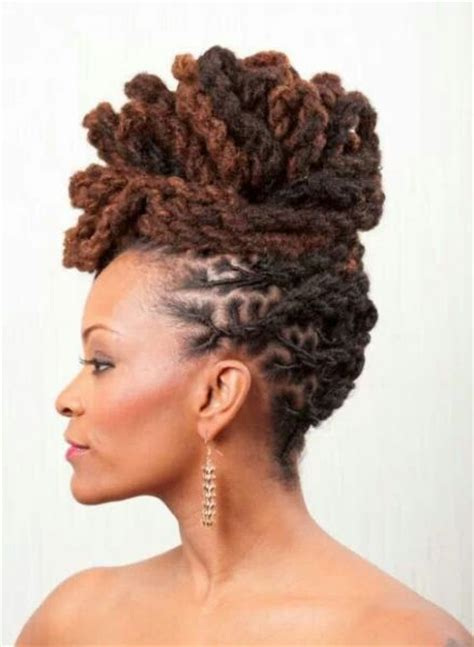 Loc Updo Hairstyles by 215 Best Images About Loc Updos On Loc