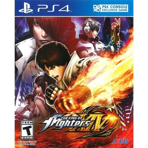 Kaset Ps4 The King Of Fighters Xiv atlus the king of fighters xiv ps4 vip outlet
