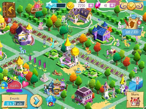 Tempat Pensil Pony Friends Kid gameloft my pony