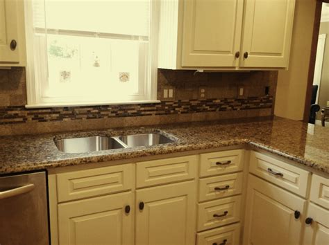 Kitchen Cabinets With Granite Countertops Brown Granite White Cabinets Giallo Vicenza Granite Countertops Kitchen