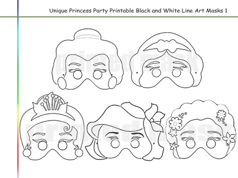 princess mask coloring pages coloring pages princess printable by