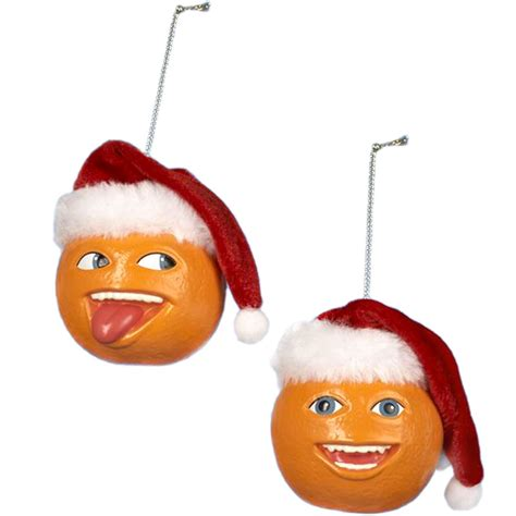 obnoxious christmas ornaments annoying orange ornament buy gifts