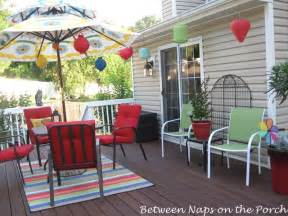 decorating decks decorate your deck for summer and cookouts