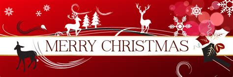 merry christmas banner backgrounds