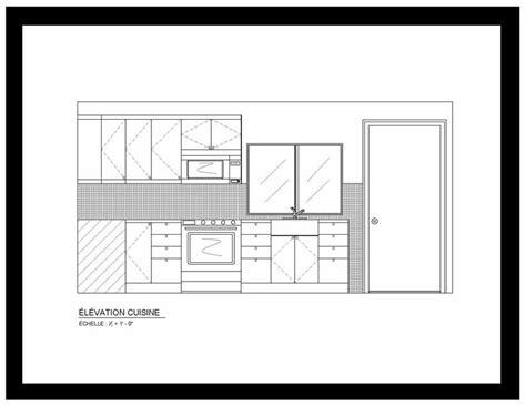Formidable Plan Chambre Avec Salle De Bain #5: CONDO-1-PIÈCE-COPIE-1-ÉLÉVATION-CUISINE-1.jpg