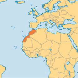 Morocco World Map by Map Of Morocco Africa Related Keywords Amp Suggestions Map