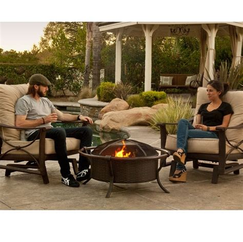 backyard portable fire pit blogs a portable wood burning fire pit will fit anywhere in your backyard ideas