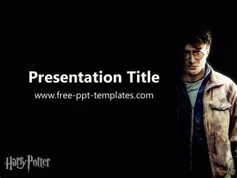 Harry Potter Ppt Template Harry Potter Powerpoint Template