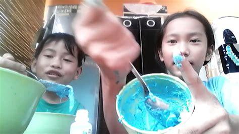 cara membuat slime ala eyang cara membuat slime dengan mudah ala nina dan mutia youtube