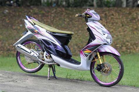 Tameng Variasi Mio Soul Thailand gambar modif modifikasi modification yamaha mio soul