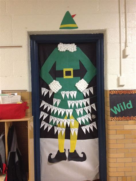 how to decorate a bureau for christmas in a tiny cottage themed door decorations for school contest door decorating sdg d 233 co de
