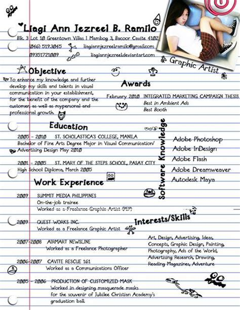 sles of bad resumes 34 exles of bad resume designs that will bring you a