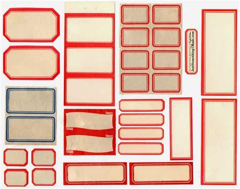 Printable Old Labels | propnomicon vintage labels
