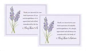 how to write thank you cards for funeral free premium templates