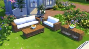sims 2 garten mod the sims garden furnitures set