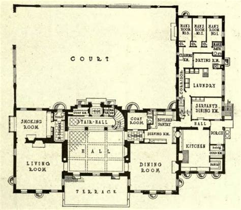 oheka castle floor plan phillip sears mansion 1st floor gilded age mansions