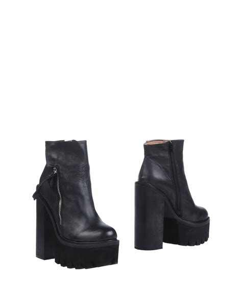 jeffrey cbell ankle boots jeffrey cbell ankle boots in black lyst