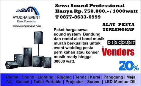 Rental Sound System Wilayah Semarang Harga Murah t 087786336999 paket rental sound 2000 watt bandung