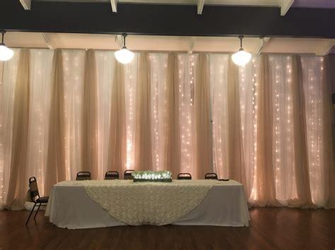draped walls knoxville wedding decor fabric draping wedding themes
