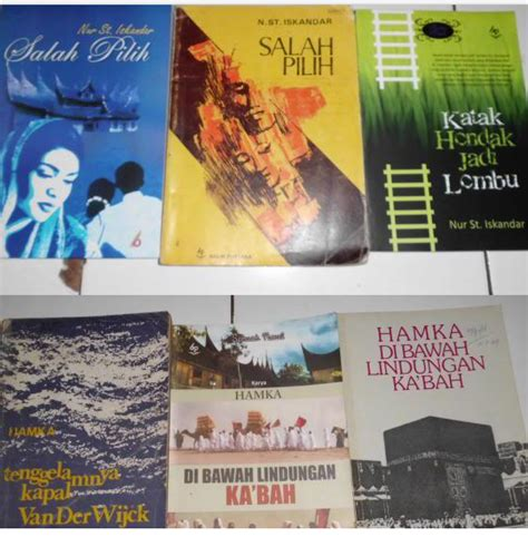 Harga Buku Novel Angkatan Balai by Buku Buku Balai Pustaka Dan Sastra Jadoel Indonesia All