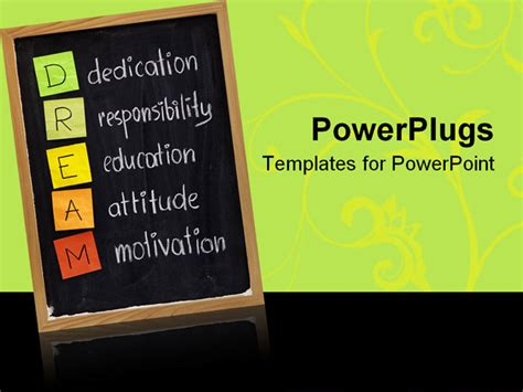 ppt templates for motivation free download edication responsibility education attitude motivation