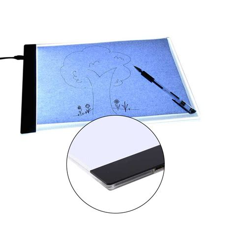 light up drawing board a4 painting drawing board led light art stencil board