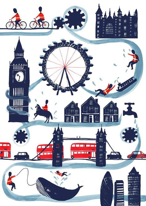 river thames map poster much of the best illustration work tells stories to engage