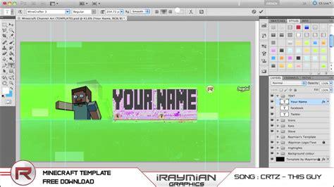 free channel template maker minecraft channel maker www pixshark