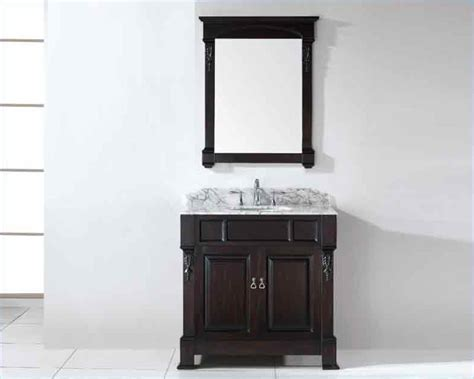Rounded Bathroom Vanity Virtu Usa 36 Quot Sink Bathroom Vanity Huntshire Vu Gs 4036 Wmro Dw