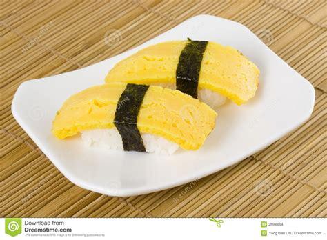 Japan Kitchen Design sushi tamago nigiri stock images image 2698464