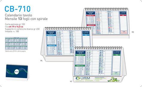 calendario scrivania calendari personalizzati sta calendari promozionali