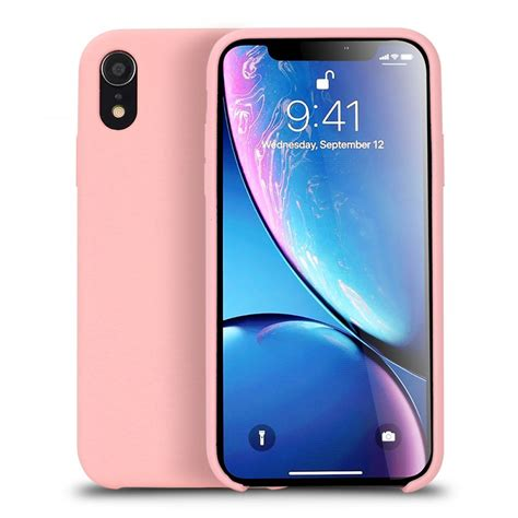 wholesale iphone xr 6 1in pro silicone pink
