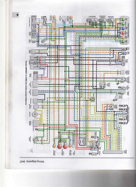 1998 honda cbr 900 blackbird wiring diagrams repair