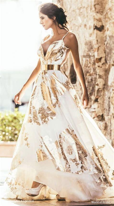 gold color dress 25 best color wedding dresses ideas on