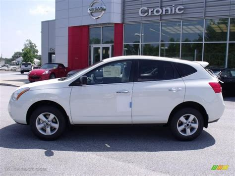 2010 nissan rogue white 2010 phantom white nissan rogue s 360 value package