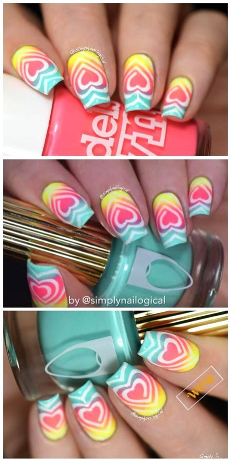 video tutorial 95 nail art ombr verde smeraldo e bianca con effetto 20956 best nail ideas and tutorials images on pinterest