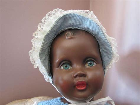 black doll 1940 plastic 27 5 quot american black doll vintage
