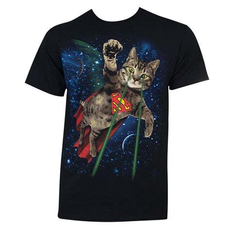 Tshirt T Shirt Caterpillar superman s black laser cat t shirt superheroden