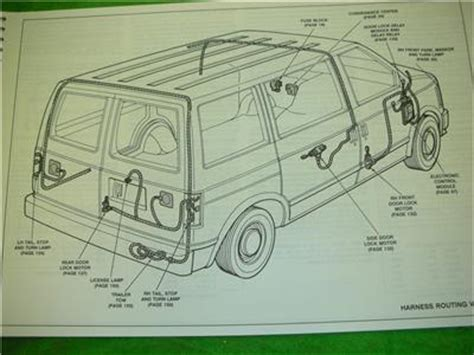 1993 Gmc Safari Van Electrical Diagrams Service Manual Ebay