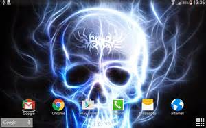 New Home Wall Texture skulls live wallpaper android apps on google play