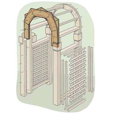 trellis archway plans how to build a garden arbor garden arbours arbors and