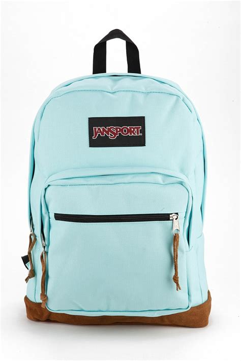 Backpack Blue jansport right pack backpack in blue turquoise lyst