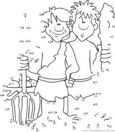 cain and abel coloring pages cain y abel coloring home