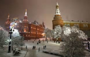 The first significant snowfall hit the russian capital on 10 december
