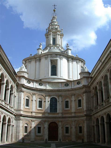 cupola sant ivo alla sapienza sant ivo alla sapienza wikimedia commons