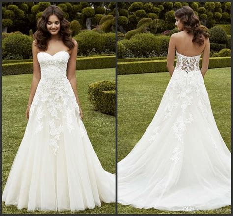 Wedding Dress On Sale by Best 25 Strapless Wedding Dresses Ideas On