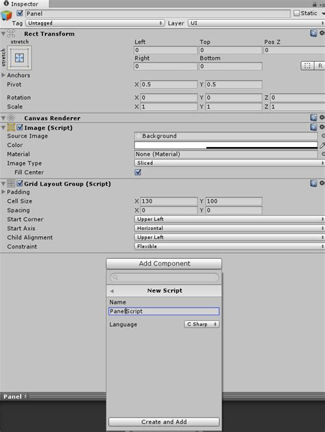 layout grid unity3d codingtrabla unity3d grid layout group add cells in